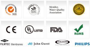 جهات مانحة لشهادات جودة منتجات معالجة المياه وشركات متعاونة
